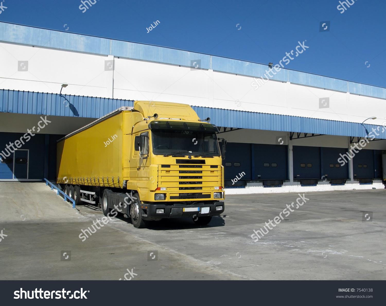 Truck Dispatch Logo Clipart Vector Design