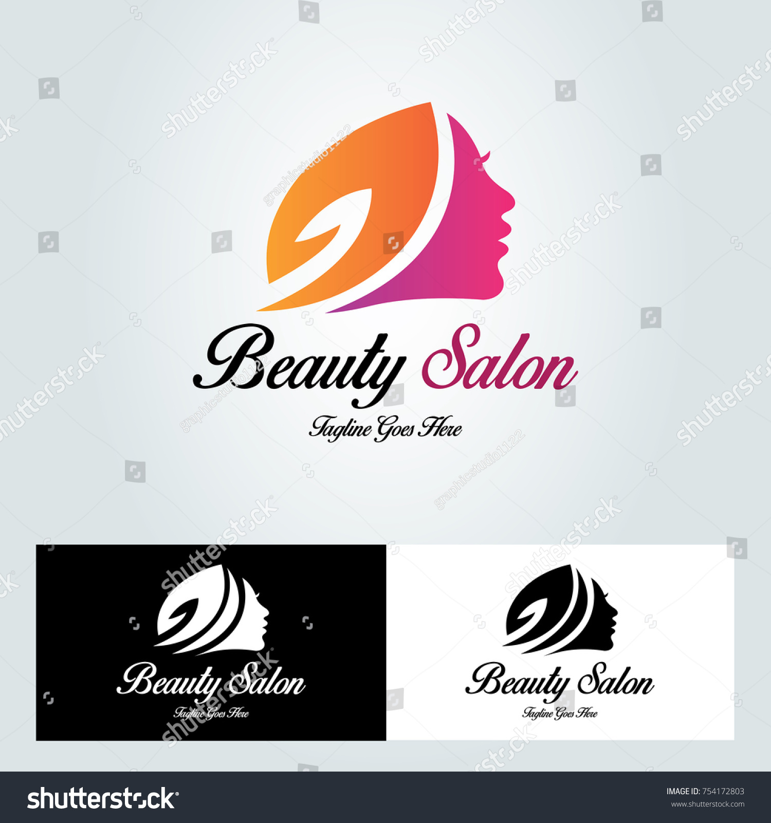 Beauty salon logo design template clipart vector labs beauty salon logo design template vector stock vector 754172803 rh shutterstock com altavistaventures Images