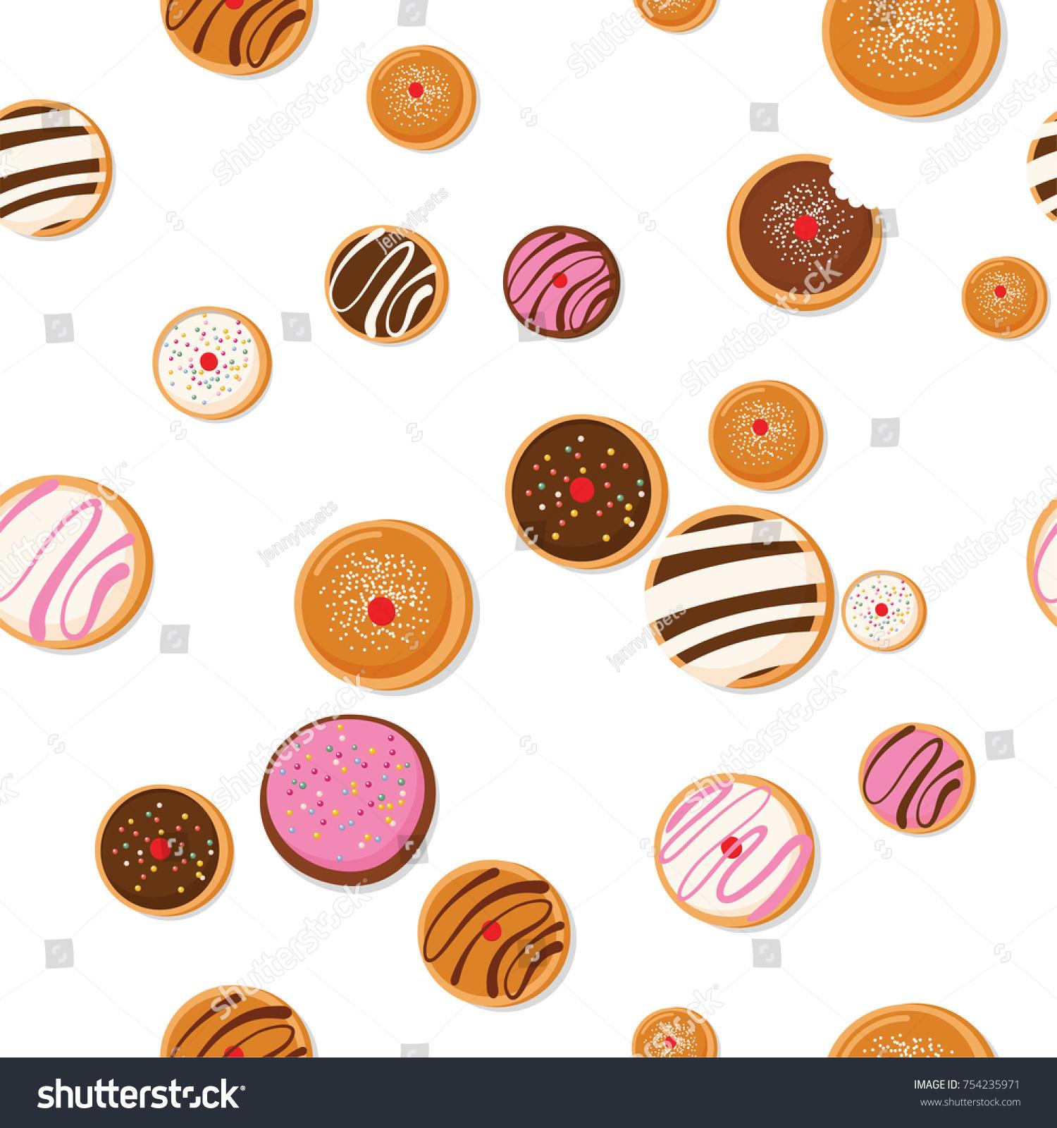 Hanukkah doughnut jewish holiday symbol sweet stock vector 754235971 hanukkah doughnut jewish holiday symbol sweet traditional bake vector illustration greeting card m4hsunfo