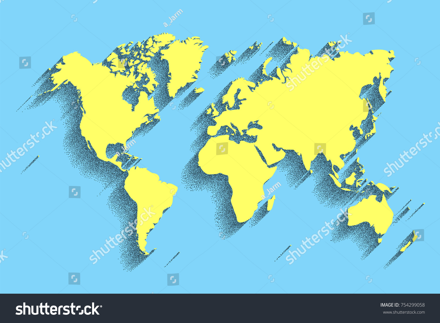 World map vector blue color background vectores en stock 754299058 world map vector blue color background with shadow gumiabroncs Images