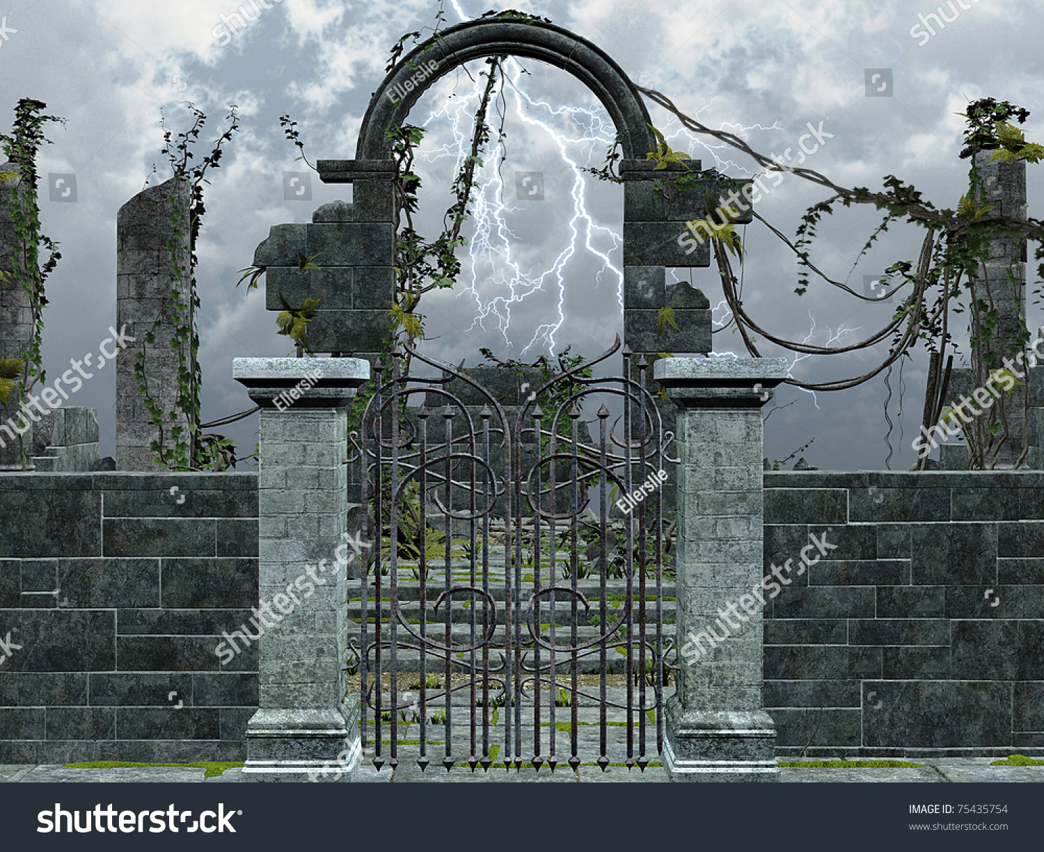 Download image Gothic Ruin PC, Android, iPhone and iPad. Wallpapers ...