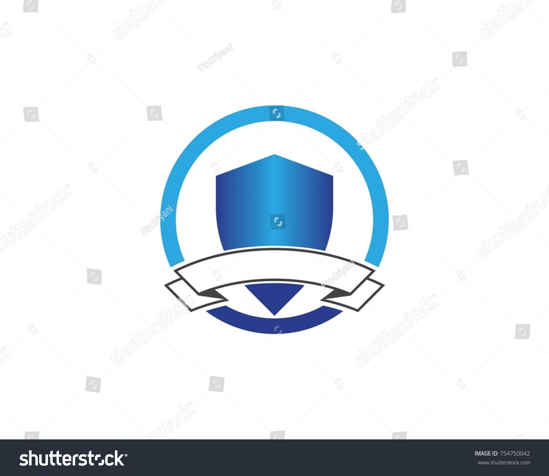 Shield Logo Design Template Stock Vector 754750042 - Shutterstock