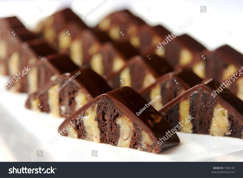 German Chocolate Brownies Stock Photo 7548130 : Shutterstock
