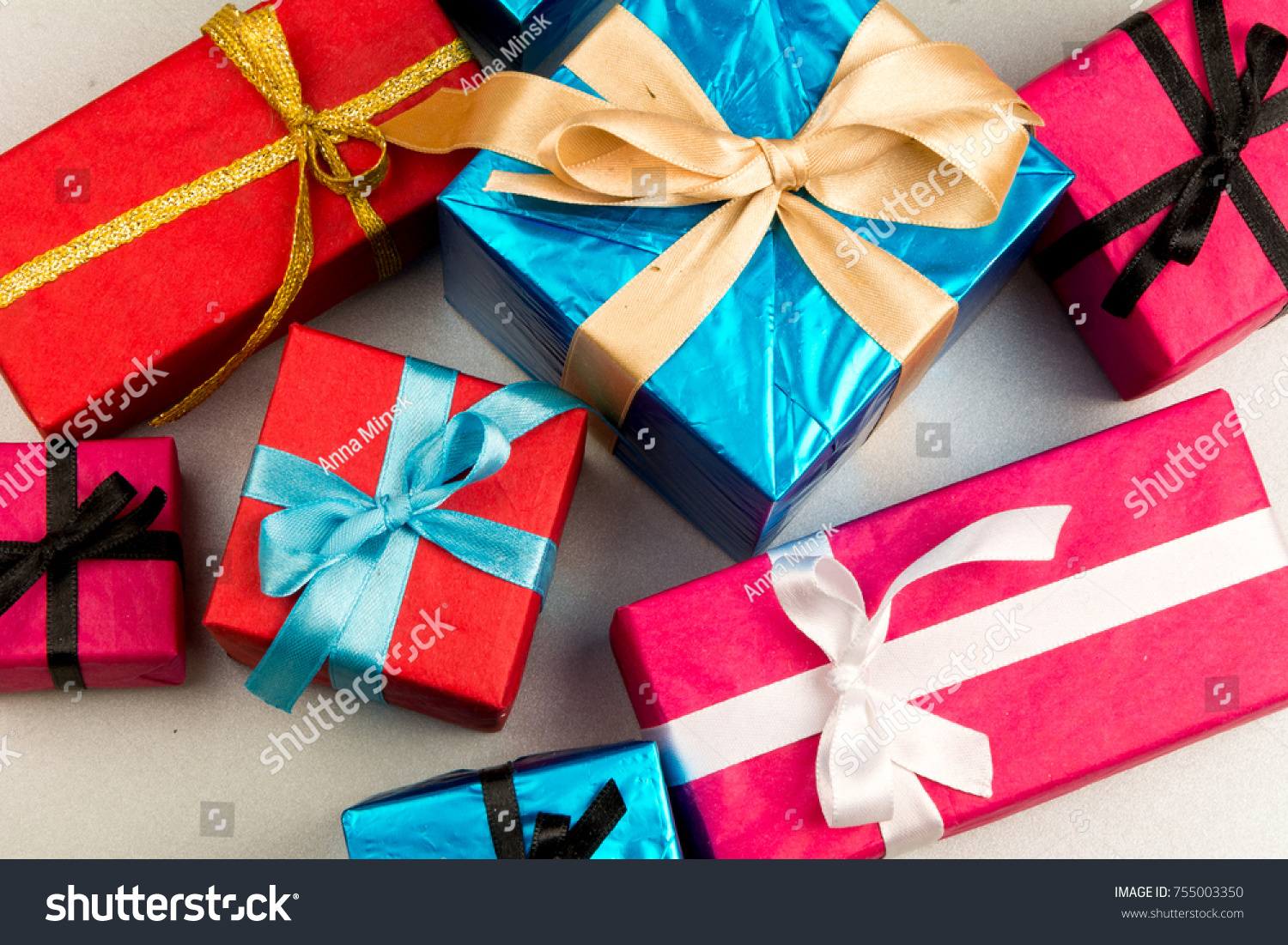 Big pile colorful wrapped gift boxes stock photo 100 legal big pile of colorful wrapped gift boxes isolated on white background mountain gifts beautiful negle Image collections