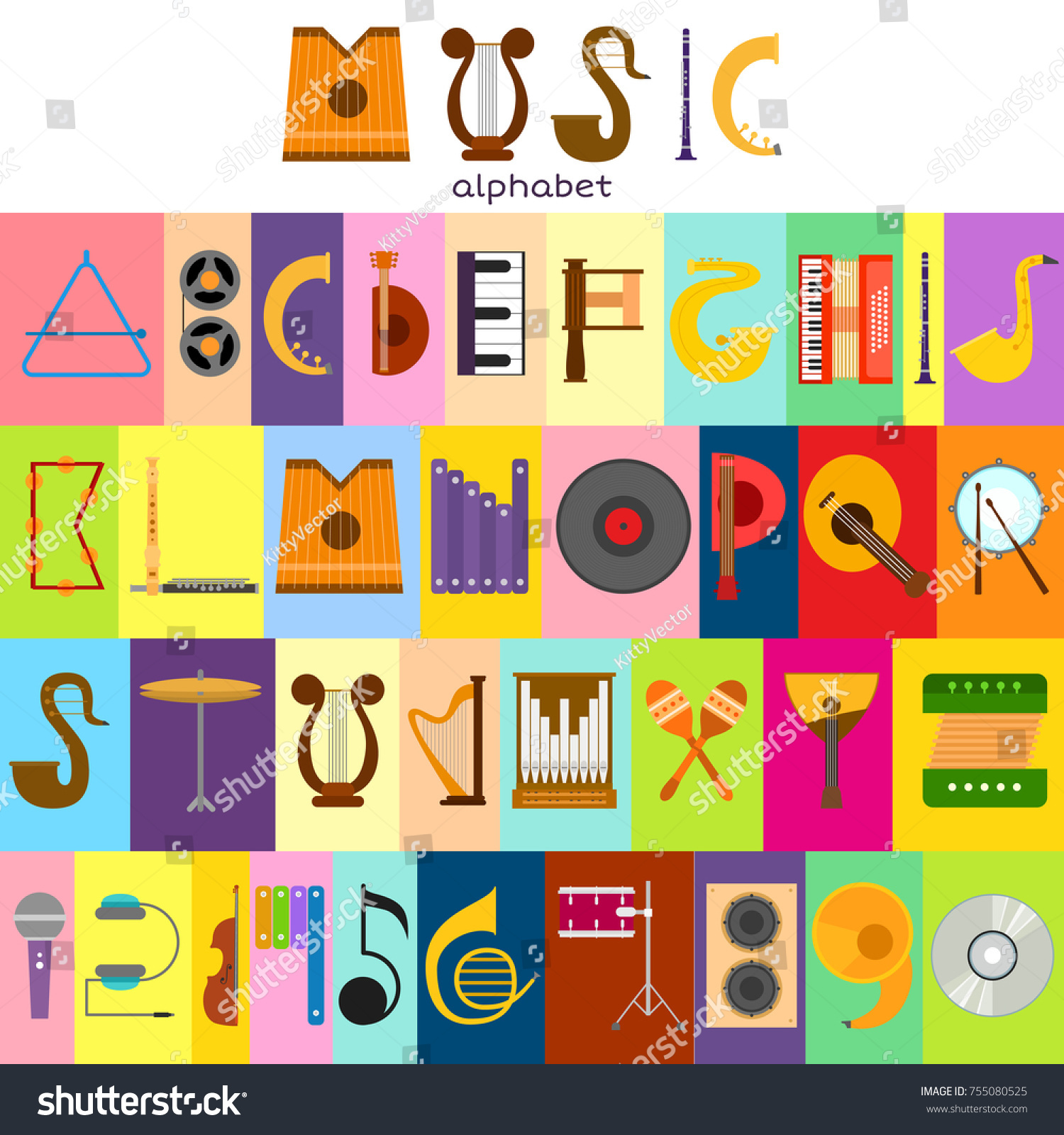 Music alphabet font text symbols musical stock vector 755080525 music alphabet font text symbols musical instrument decorative education notes hand mark calligraphy musician poster vector buycottarizona