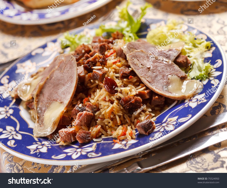 Uzbek national dish - horse sausage. Cooking at home 3