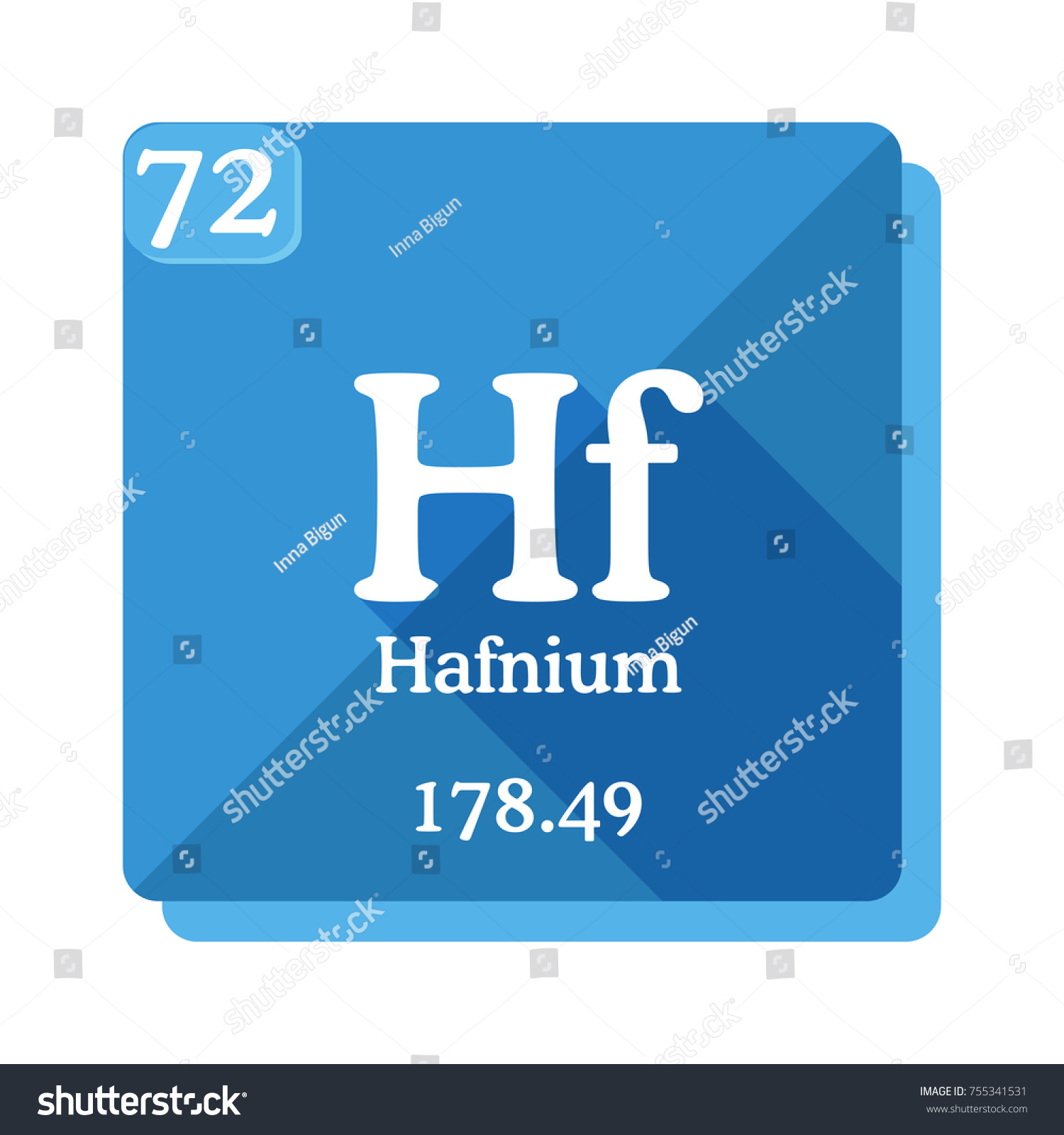 Hf element periodic table image collections periodic table images hafnium hf element periodic table vector stock vector 755341531 hafnium hf element of the periodic table gamestrikefo Images