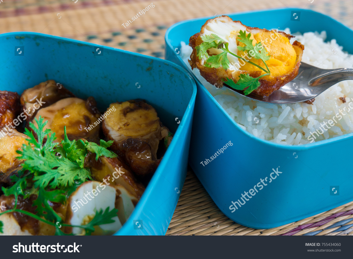 Sweet Sour Eggs Tiffin Sweet Sour Stock Photo (Edit Now) 755434060 ...