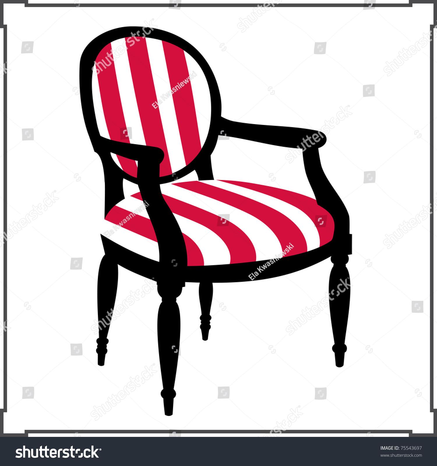 Interior Concept Armchair Design Ideas Home Stock Vector 75543697 Shutterstock