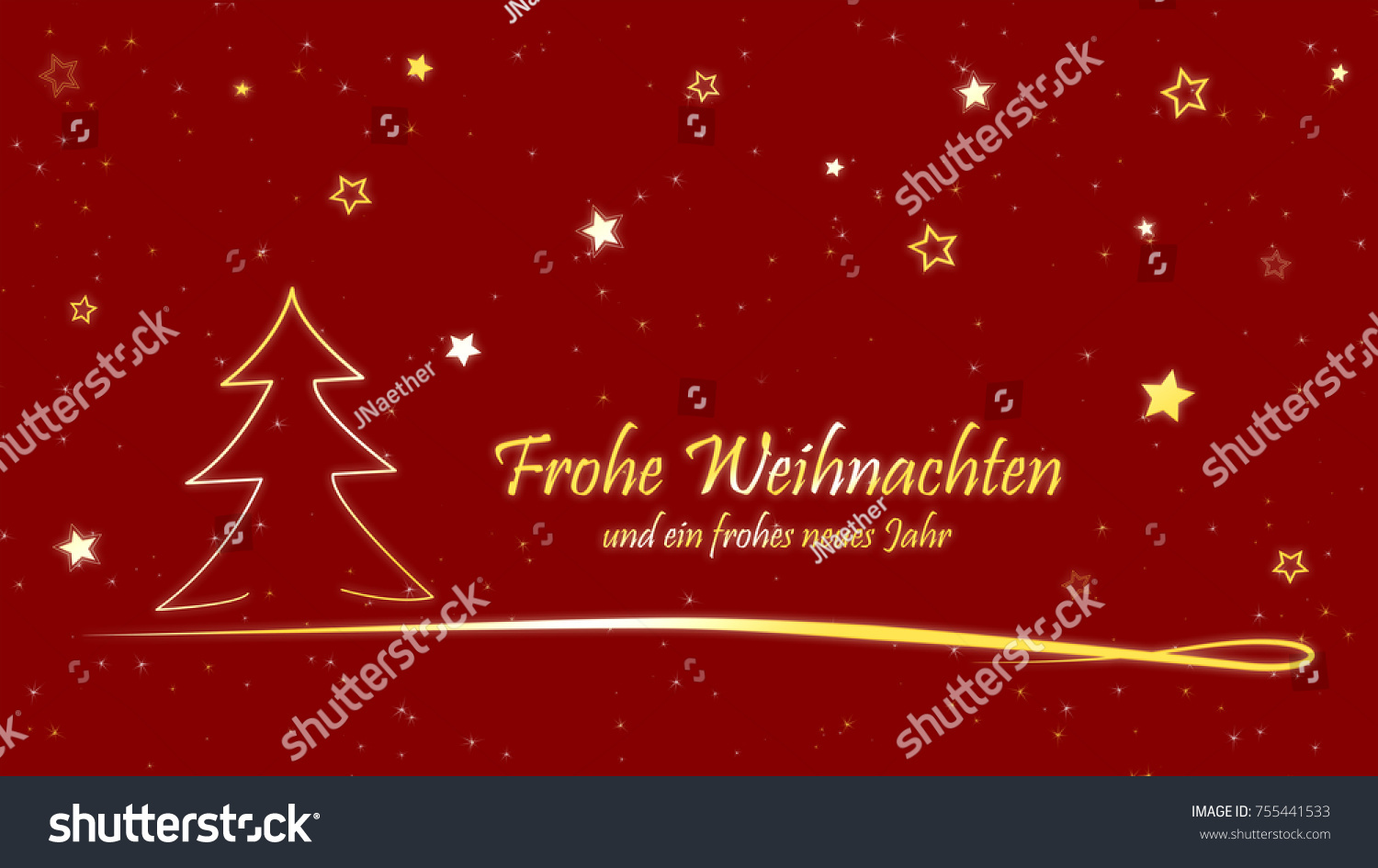 christmas card frohe weihnachten und ein stock. Black Bedroom Furniture Sets. Home Design Ideas