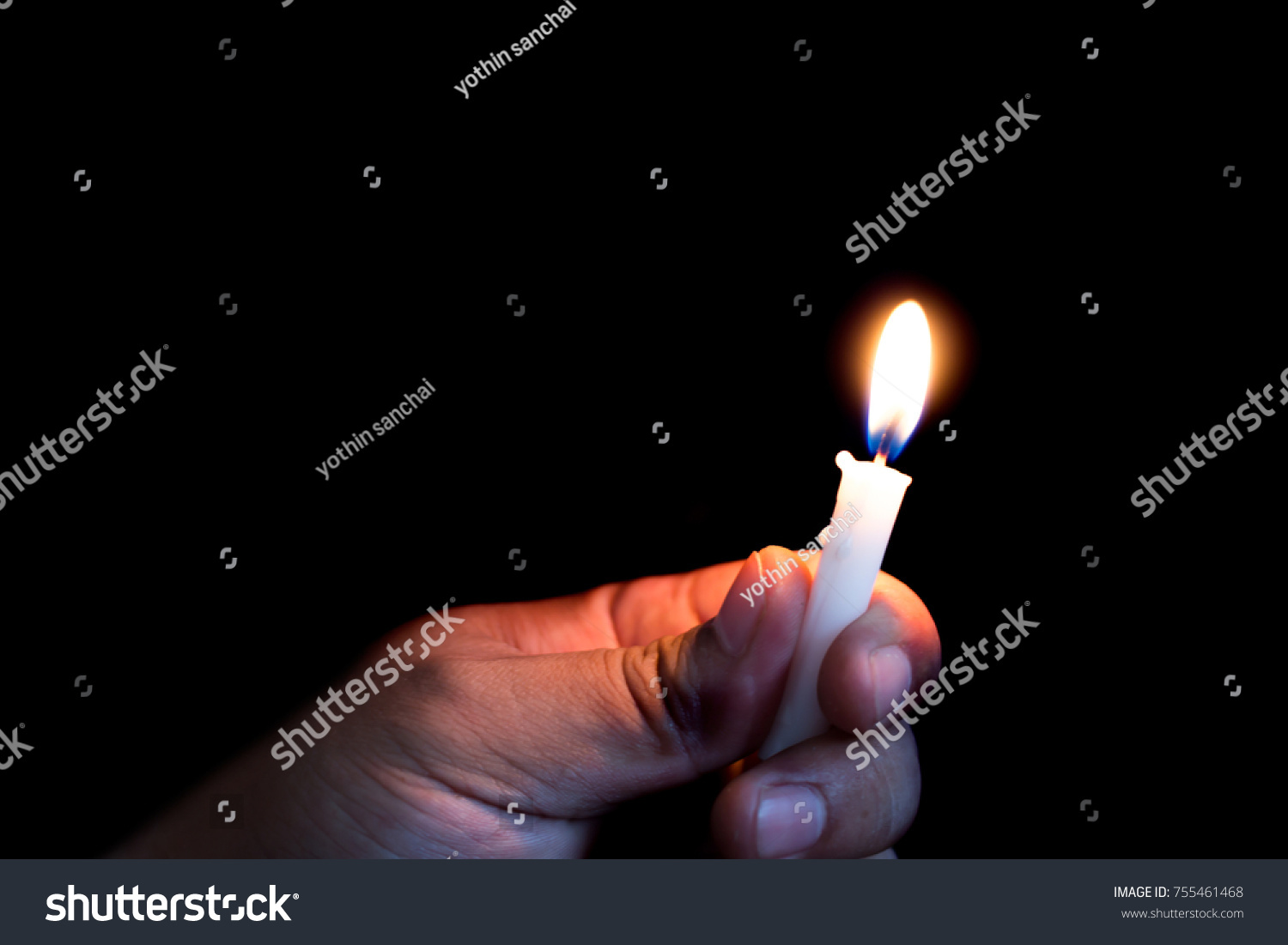 Person Holding Candle Dark Stock Photo 755461468 - Shutterstock for Holding Candle In The Dark  155fiz