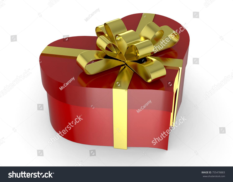 Heart gift packet 3d stock illustration 755478883 shutterstock heart gift packet 3d negle Choice Image