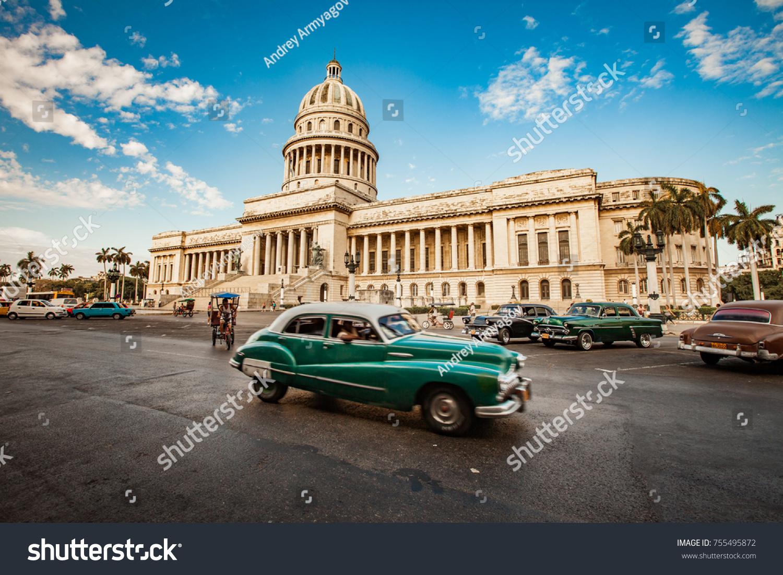 Havana Cuba June 7 2011 Old Stock Photo 755495872 - Shutterstock
