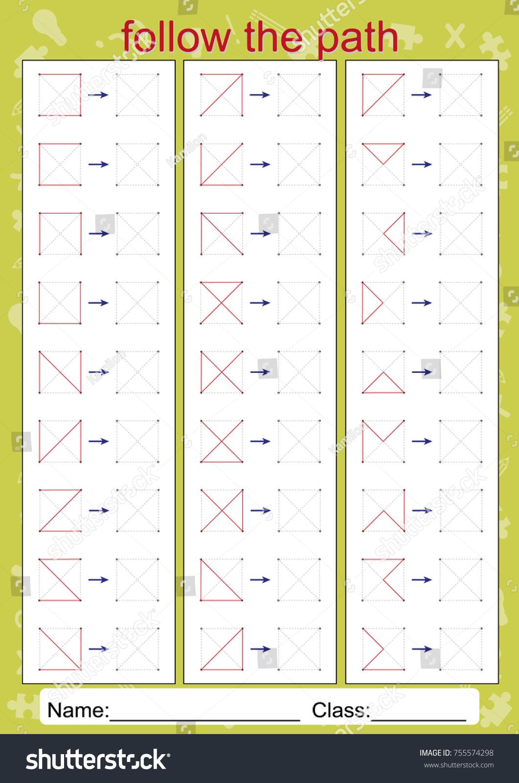 worksheet Visual Perception Worksheets visual perceptual worksheets motor perception stock vector hd homework