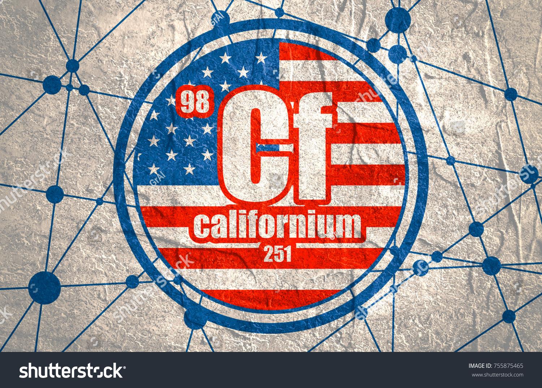 Californium chemical element sign atomic number stock illustration californium chemical element sign with atomic number and atomic weight chemical element of periodic gamestrikefo Images
