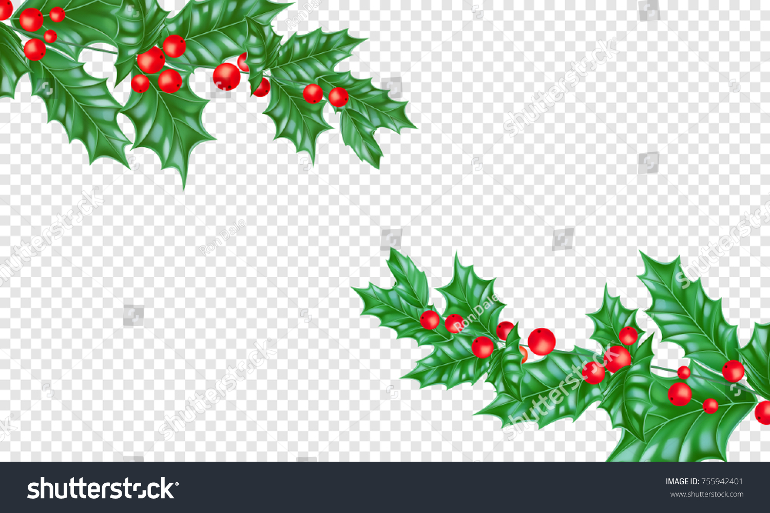 Christmas Holiday Greeting Card Background Template Stock Vector