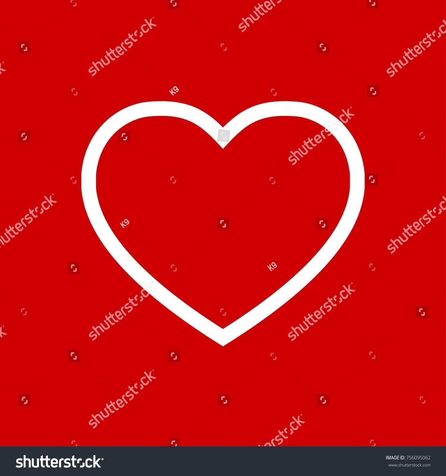 Heart icon vector fat design editable stock vector 756095062 heart icon vector fat design editable stroke 512x512 pixel perfect biocorpaavc