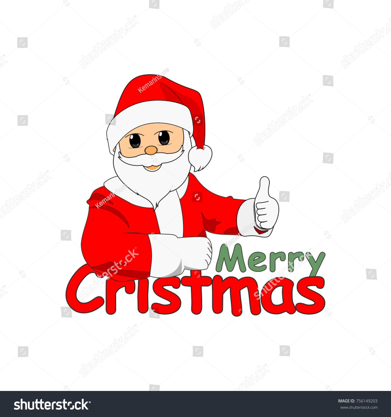 Santa Claus Template Logo Stock Vector 756149203 - Shutterstock