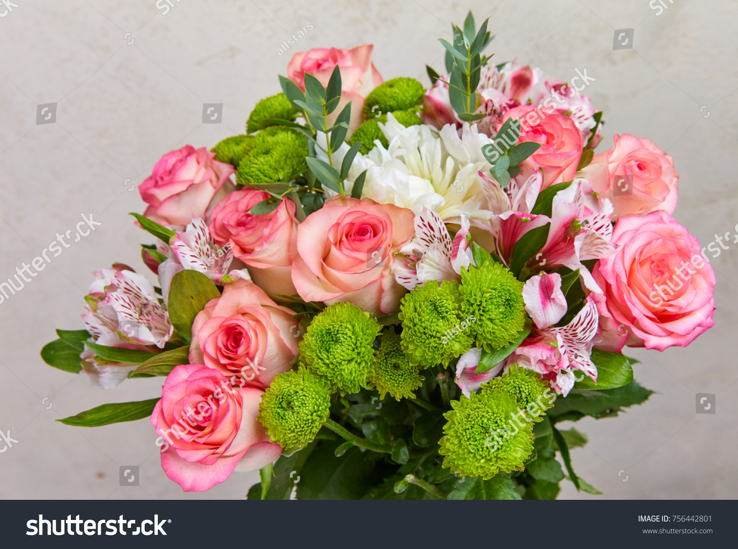 Beautiful Flower Bouquet Stock Photo Edit Now 756442801 Shutterstock
