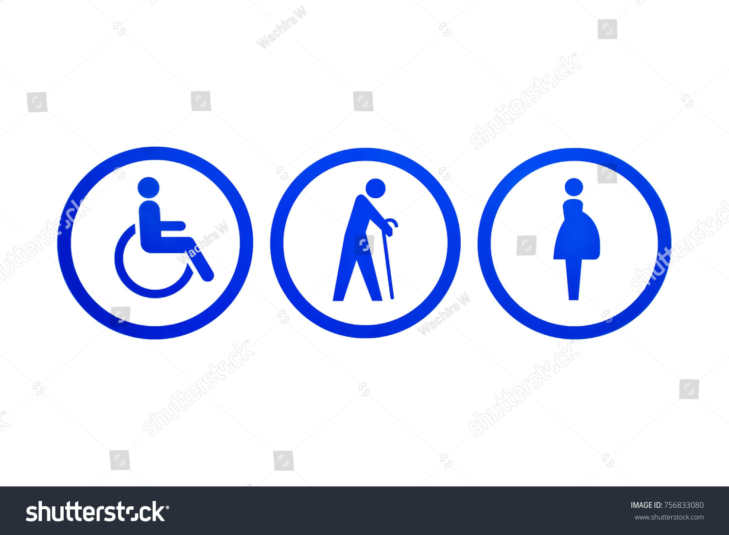 Signs symbols disabled seniors pregnant woman stock illustration signs symbols of disabled seniors and pregnant woman people icons for parking bathroom buycottarizona
