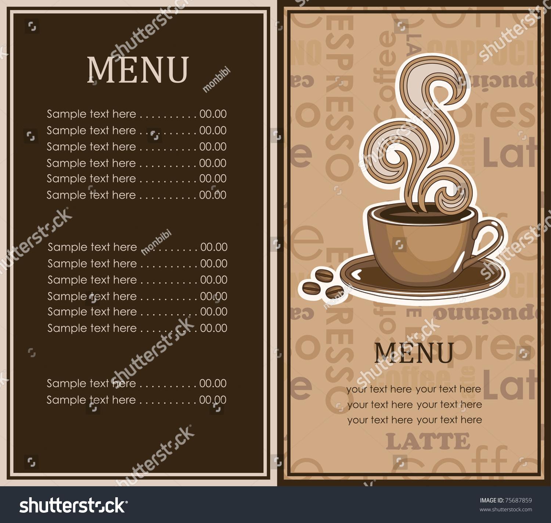 Cafe Coffee Day Menu Card