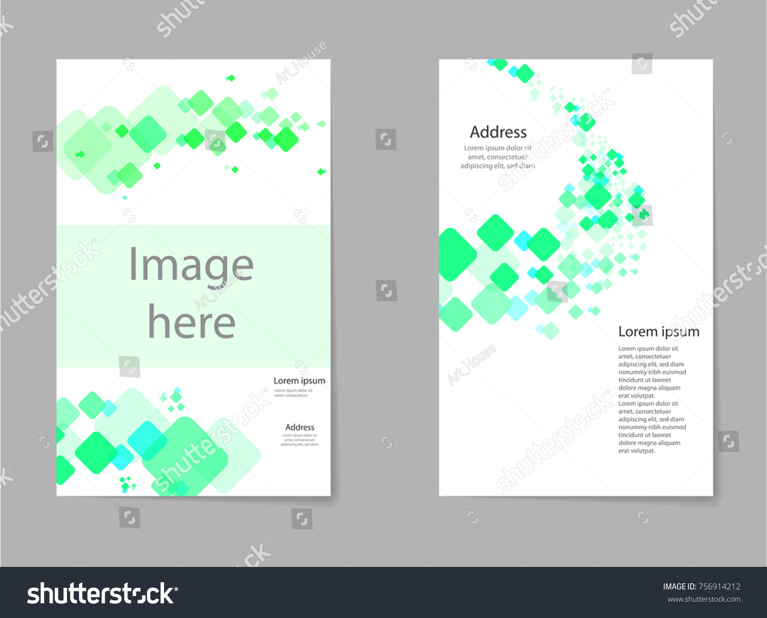 Abstract composition business card set box stock vector 756914212 abstract composition business card set box block text frame geometric shape font texture magicingreecefo Gallery