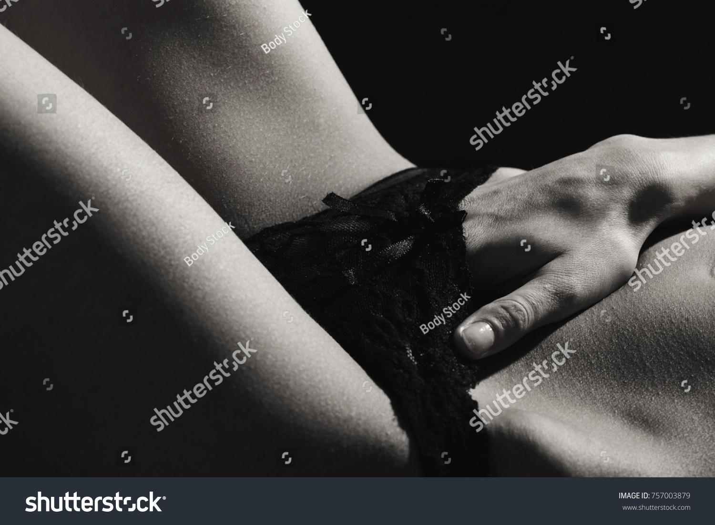 Sensual girl in ecstasy, orgasm. Love concept. Nude women in erotic pose.