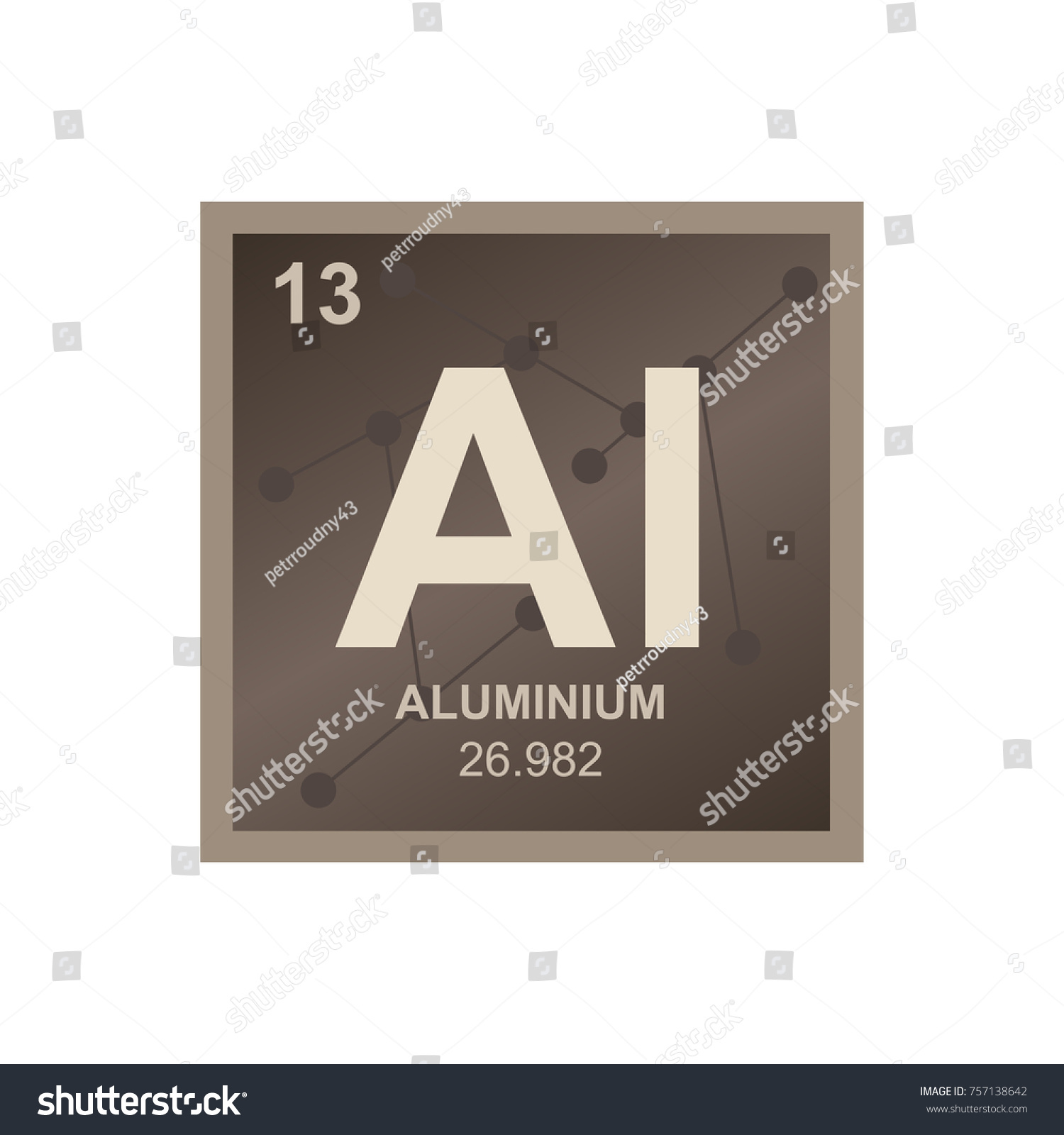 Aluminium symbol periodic table gallery periodic table images vector symbol aluminium periodic table elements stock vector vector symbol of aluminium from the periodic table gamestrikefo Images
