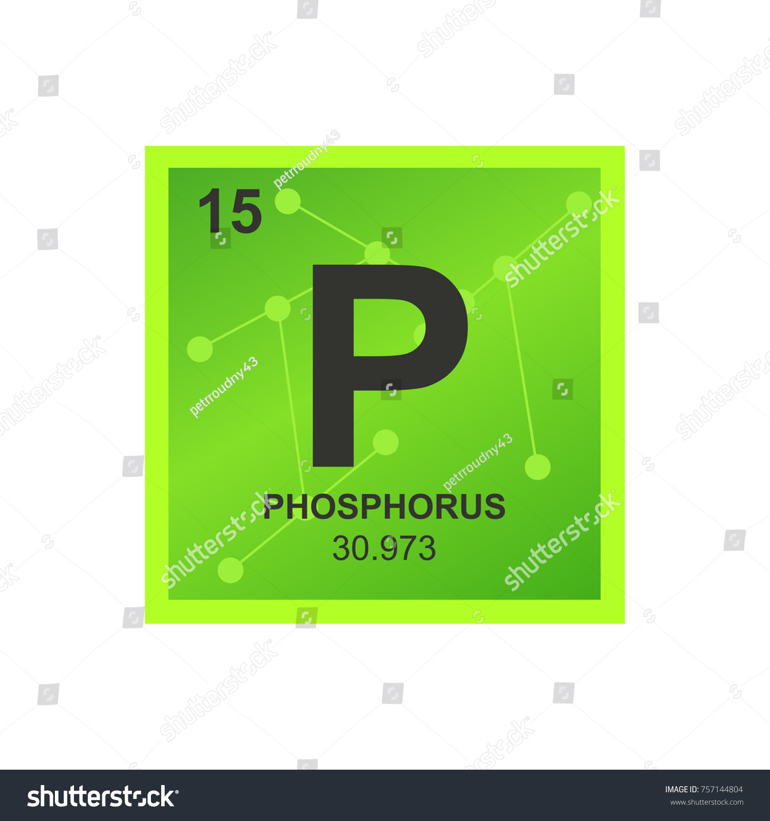 Vector symbol phosphorus periodic table elements stock vector vector symbol of phosphorus from the periodic table of the elements on the background from connected gamestrikefo Gallery