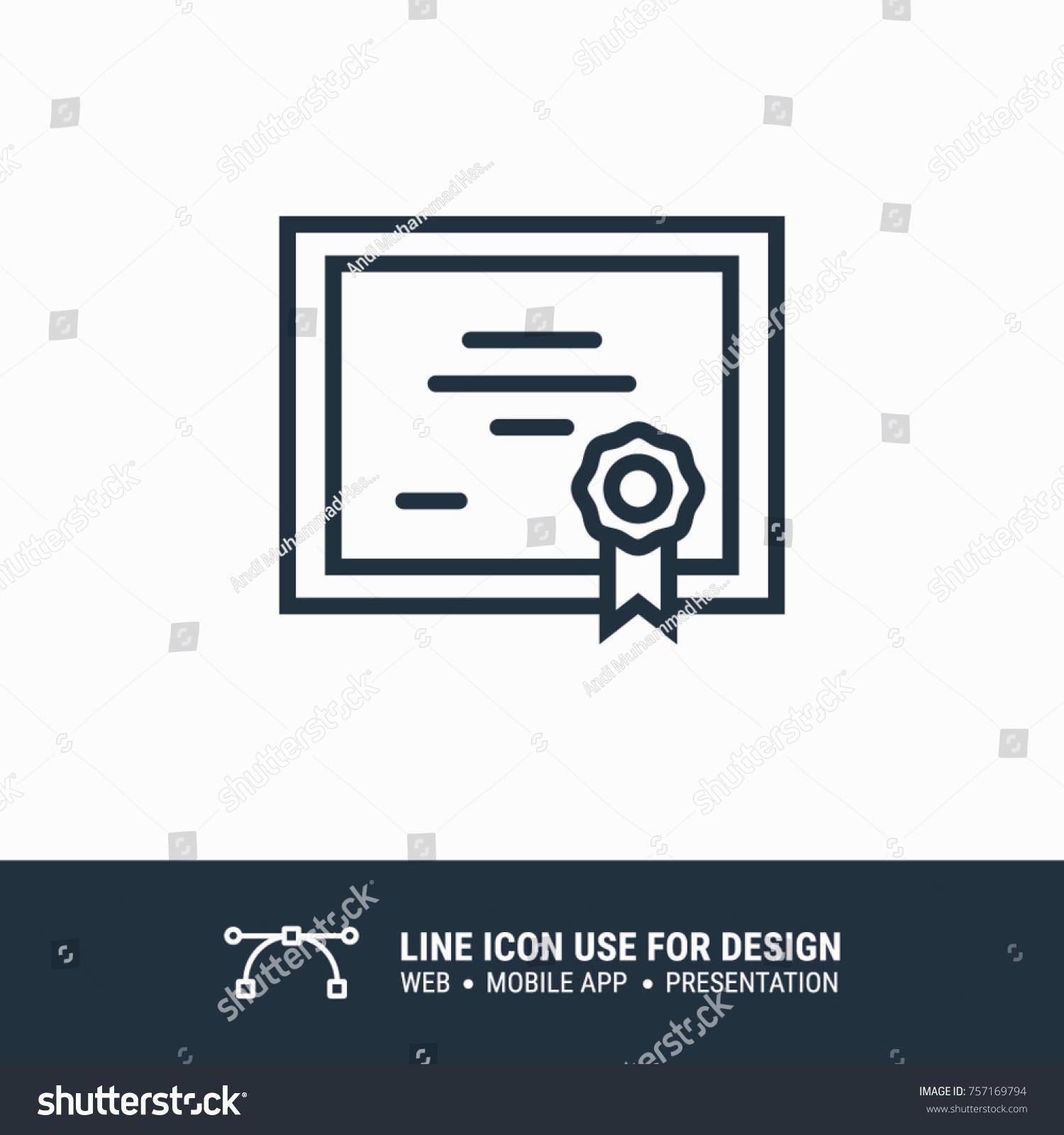 Icon online certificate graphic design single stock vector icon online certificate graphic design single icon vector illustration xflitez Images