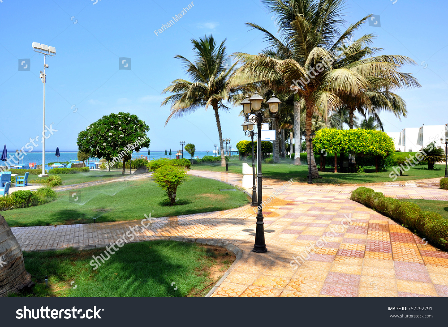 Beautiful Yanbu City Saudi Arabia Beach Stock Photo (Royalty Free ...