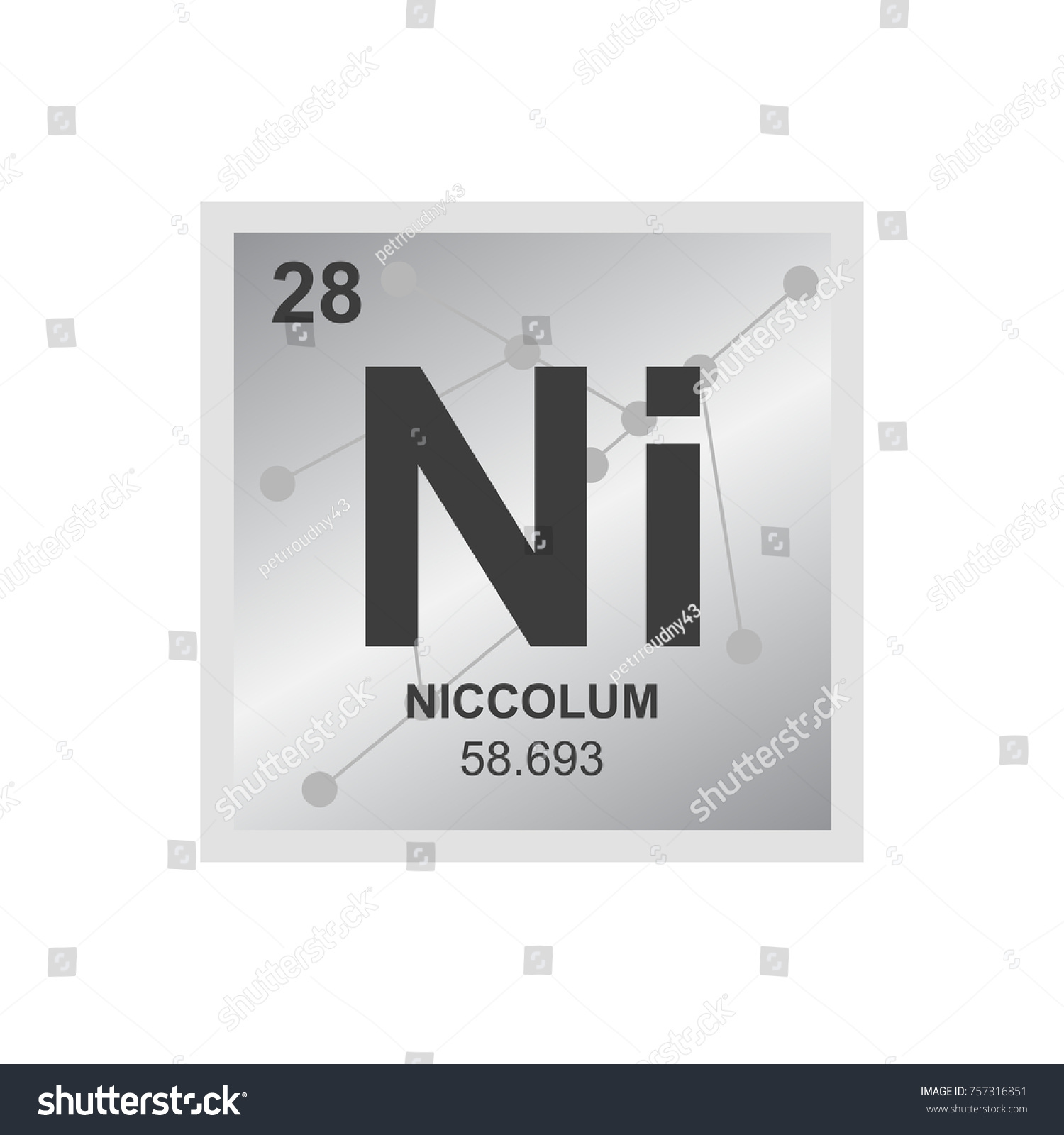 What is the symbol for nickel on the periodic table choice image vector symbol nickel periodic table elements stock vector vector symbol of nickel from the periodic table gamestrikefo Gallery
