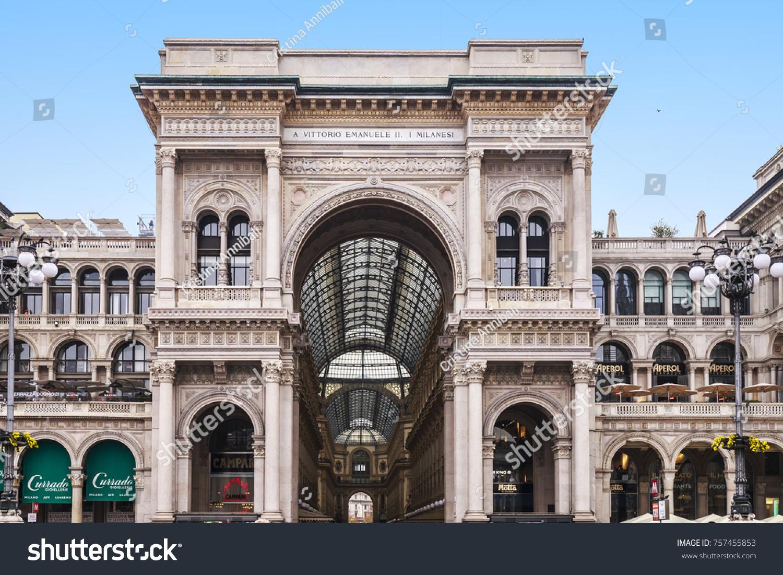 Milan Italy November 04 2017 Milan Stock Photo Edit Now 757455853