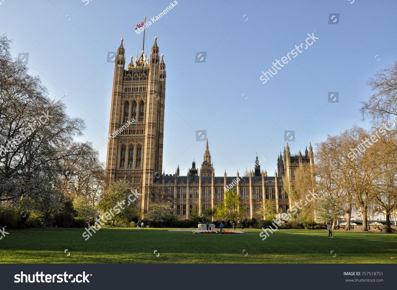 House Parliament London Stock Photo Edit Now 757518751 Shutterstock