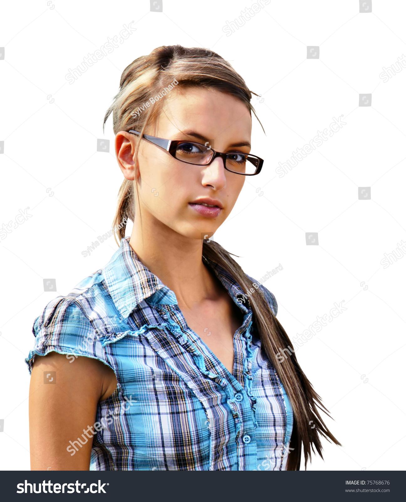 brunette girl next door solo