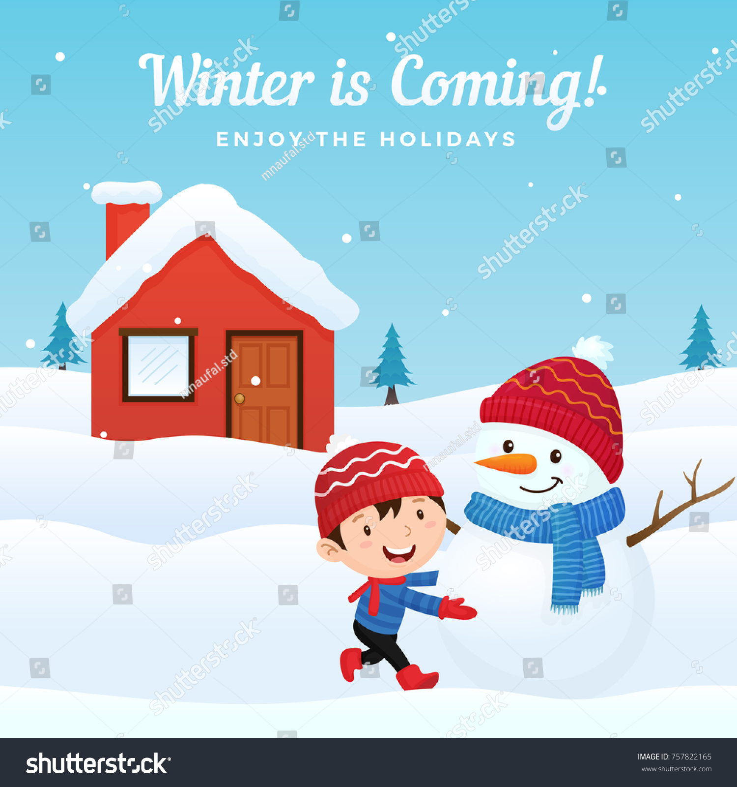 about winter season for kids