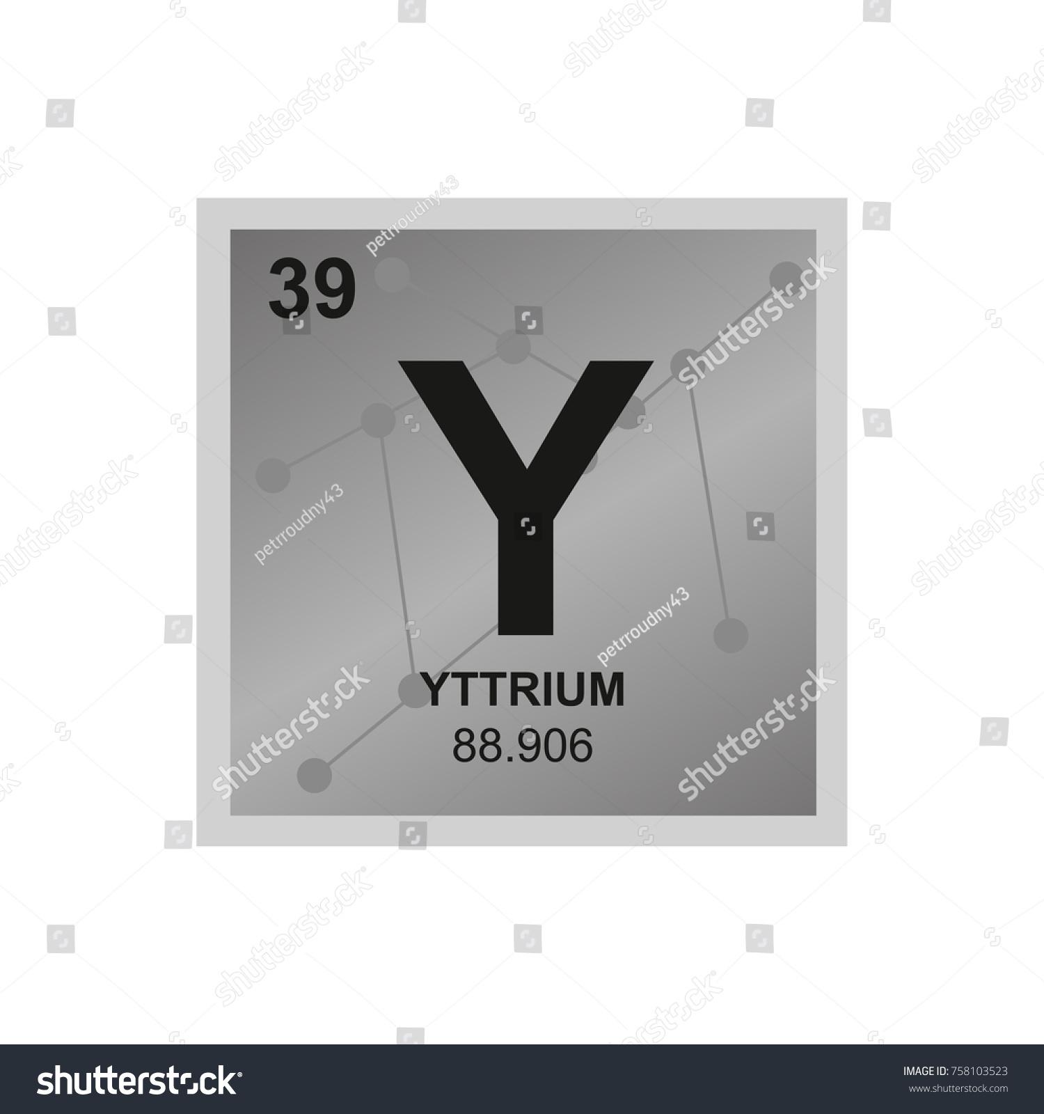Periodic table element yttrium icon fm transmitter schematic diagram vector symbol yttrium periodic table elements stock vector stock vector vector symbol of yttrium from the periodic table of the elements on the background gamestrikefo Gallery