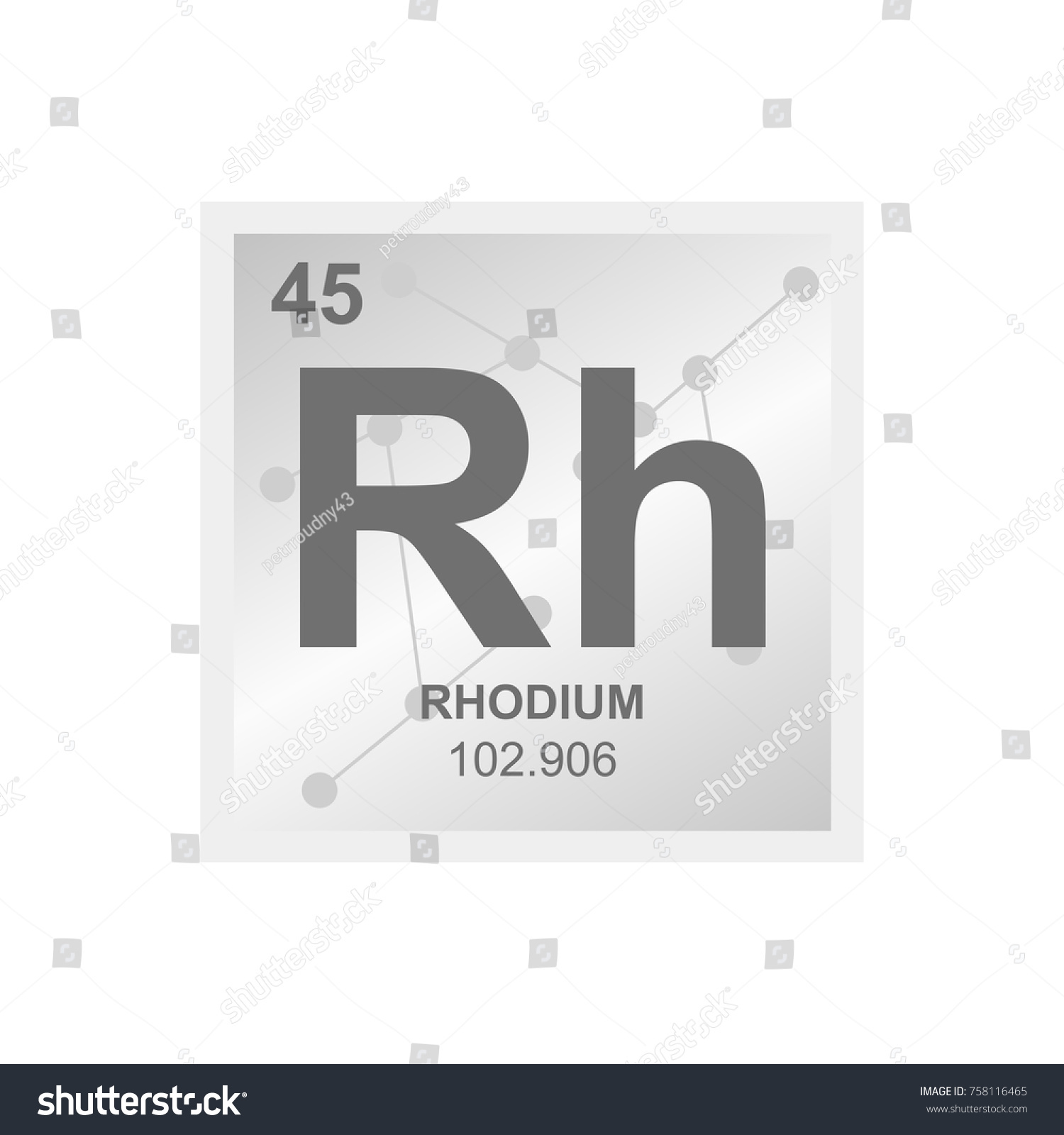 Rhodium on periodic table choice image periodic table images vector symbol rhodium periodic table elements stock vector vector symbol of rhodium from the periodic table gamestrikefo Gallery