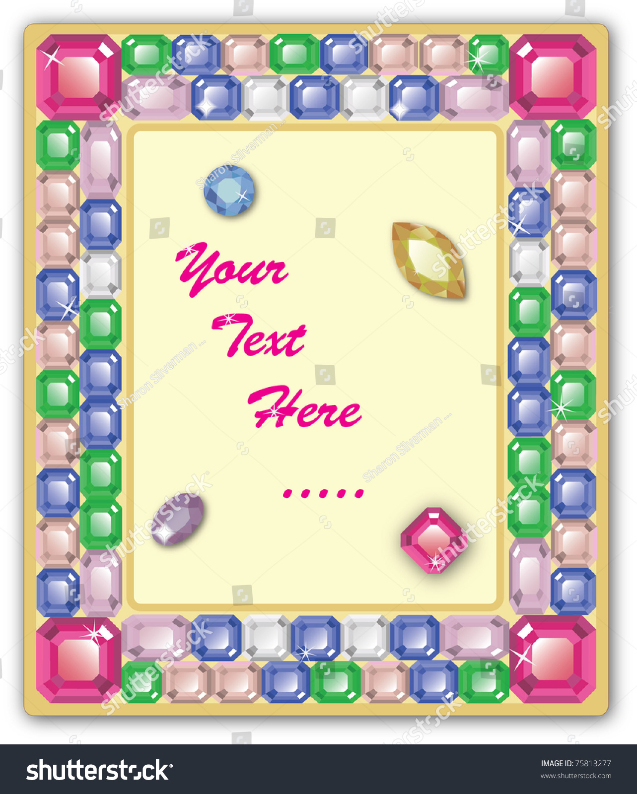 Atemberaubend Jeweled Picture Frame Ideen - Benutzerdefinierte ...