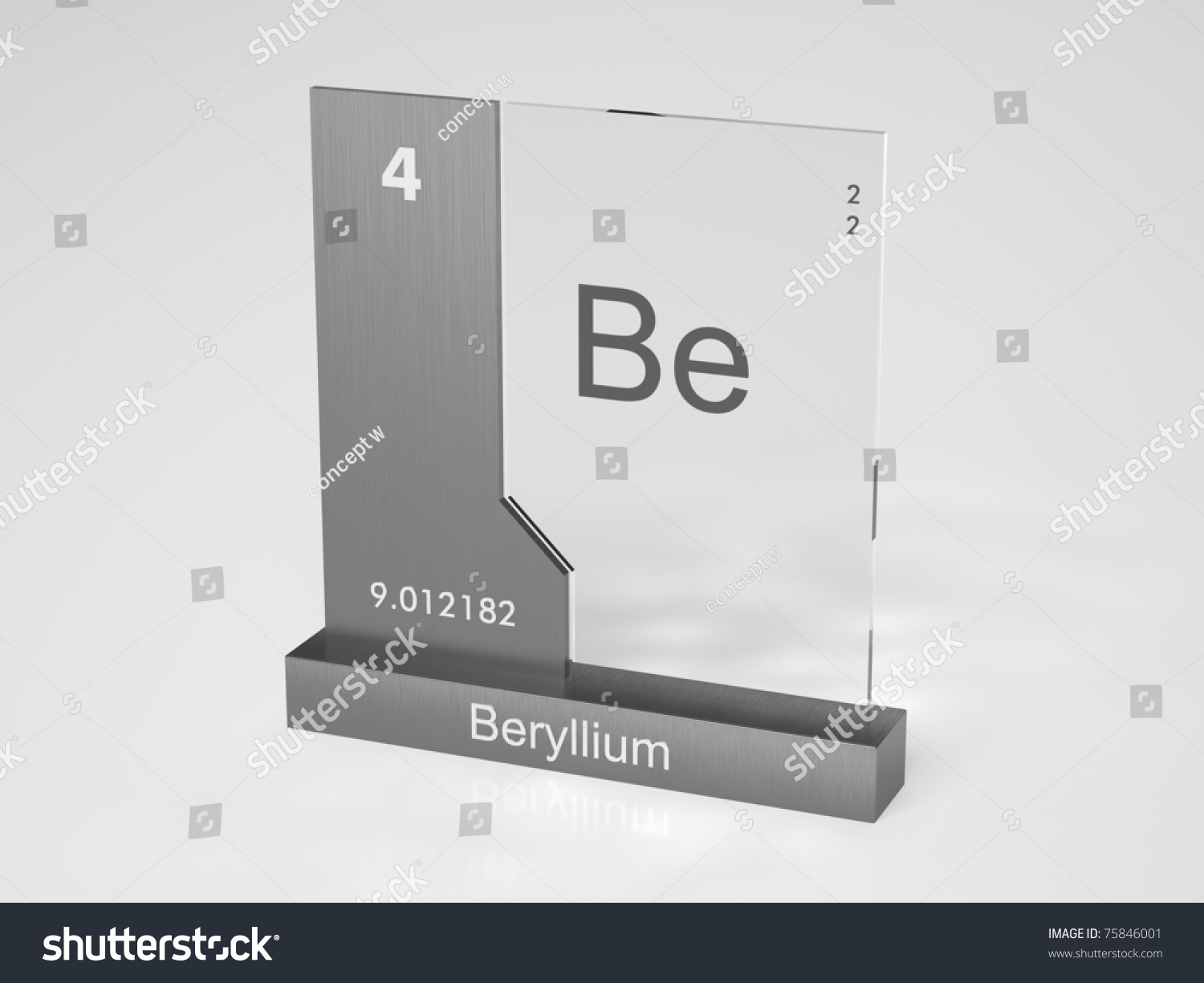 Beryllium symbol be chemical element periodic stock illustration beryllium symbol be chemical element of the periodic table biocorpaavc Images