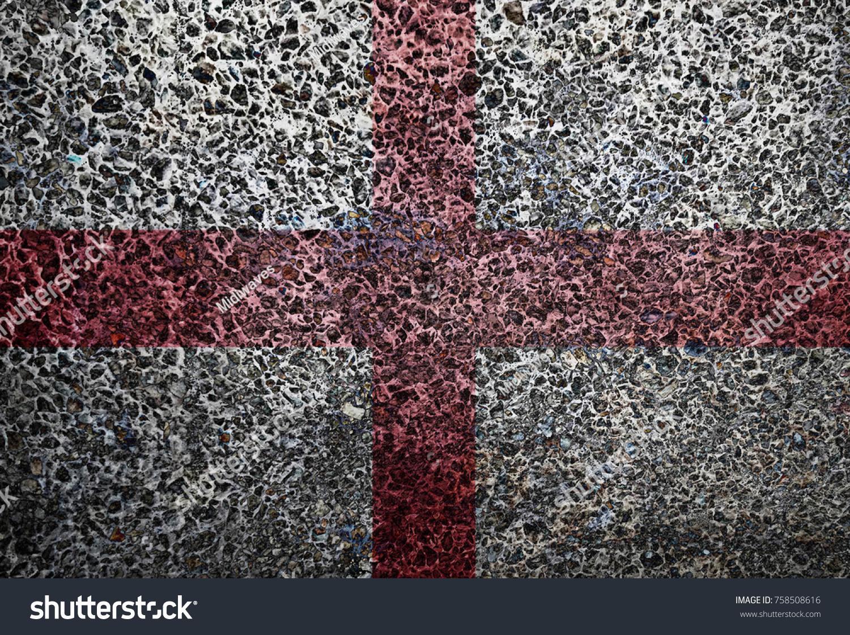 England Flag Grunge Background Stock Photo 758508616 - Shutterstock