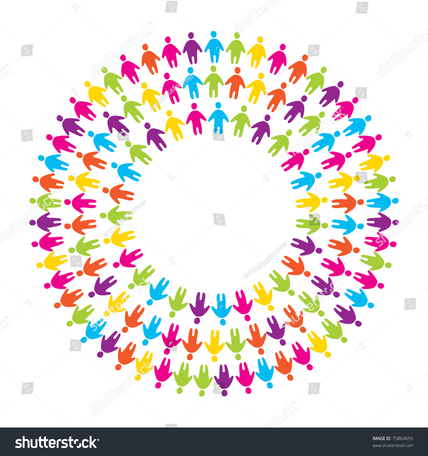 Signsymbol Unity Friendship Alliance Stock Vector Royalty Free