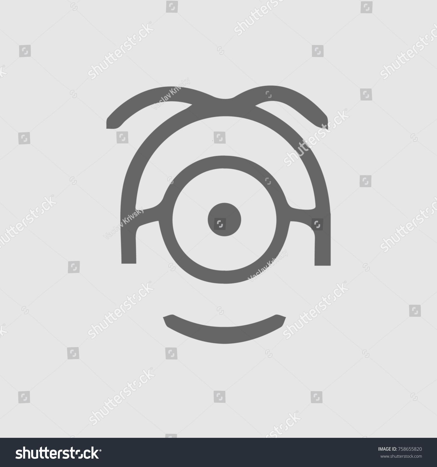 Minion Vector Icon Eps 10 Vector de stock758655820: Shutterstock