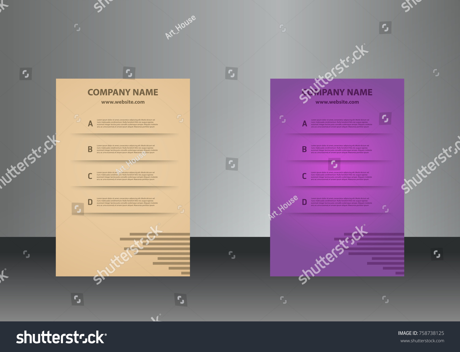 Vertical business cards print template personal stock vector vertical business cards print template personal business card with company logo in colors sets magicingreecefo Gallery