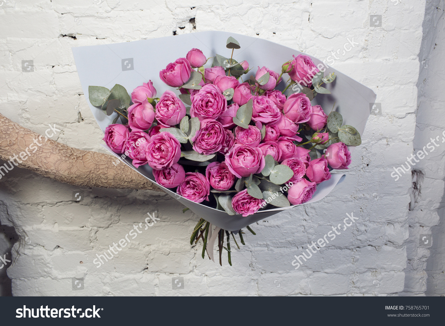 Very Beautiful Flowers Bouquet Shot By Stock Photo Edit Now