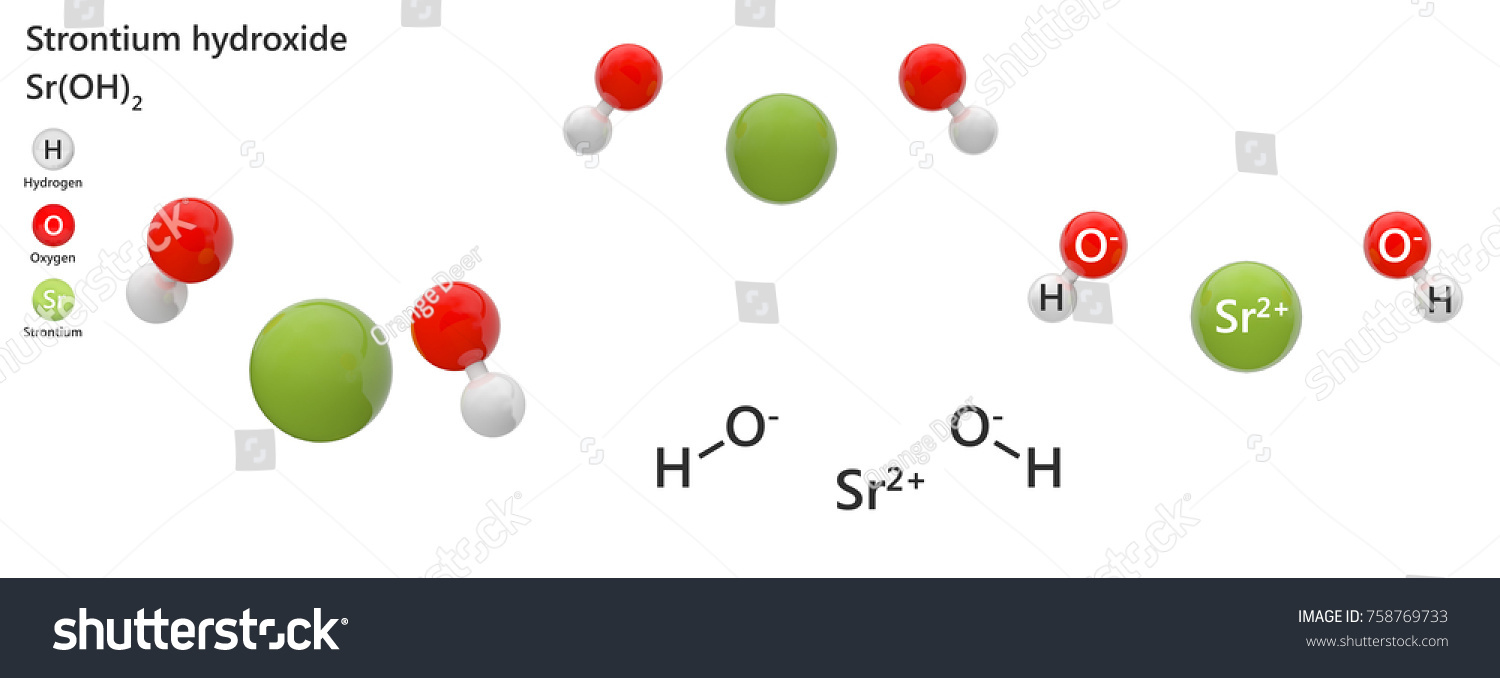 Strontium hydroxide formula sroh2 h2o2sr used stock illustration strontium hydroxide formula sroh2 or h2o2sr it is used chiefly biocorpaavc