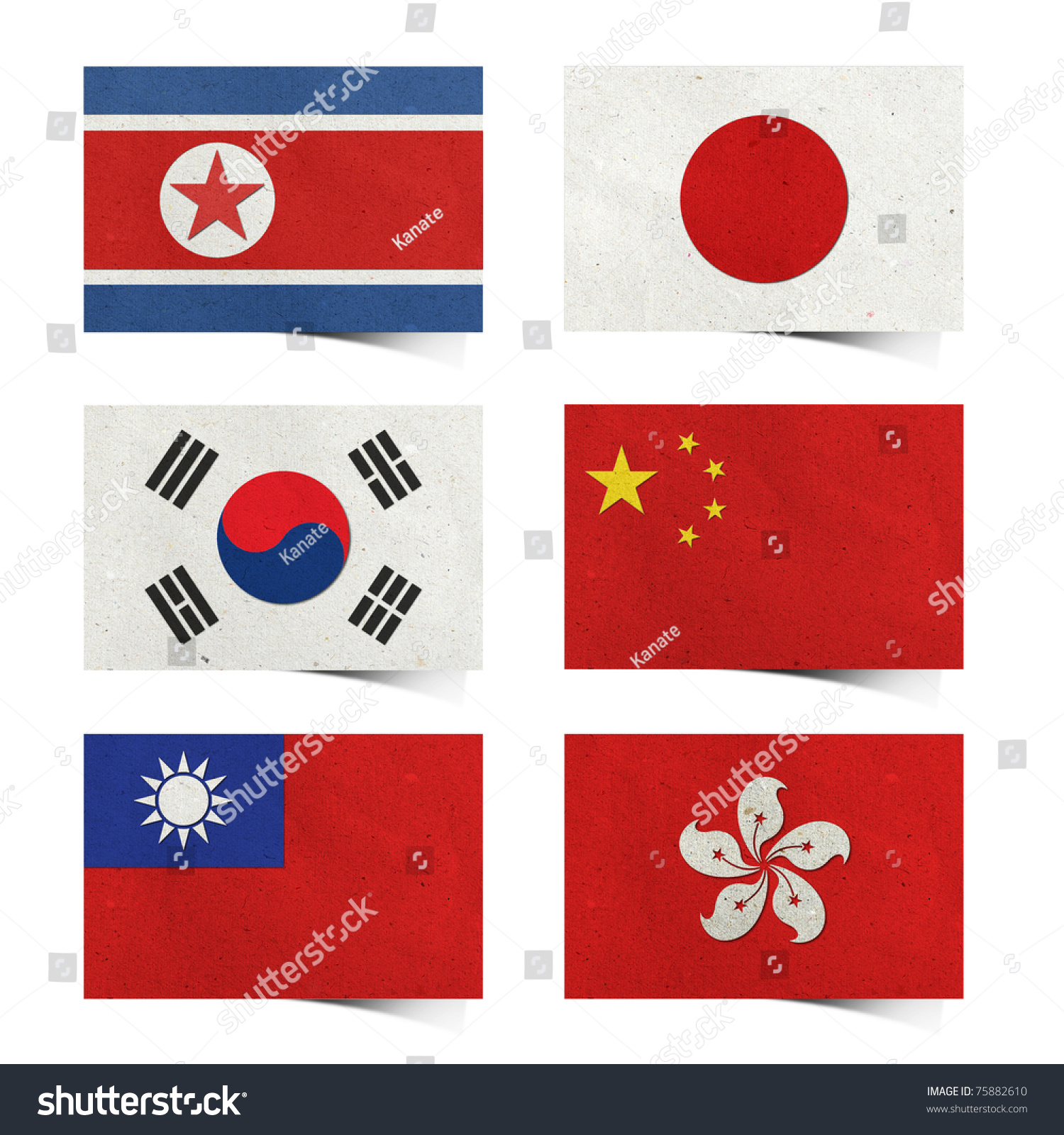 Examples List on Asian Nations