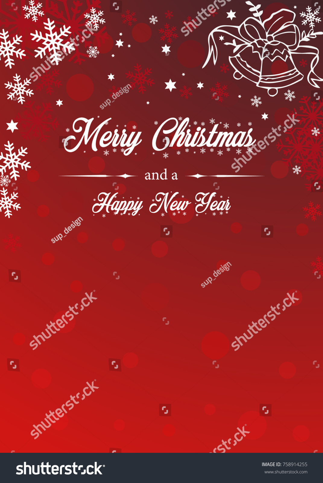 Merrry chistmas new year design cards stock vector 758914255 design for cards greetingsbackground etc kristyandbryce Gallery