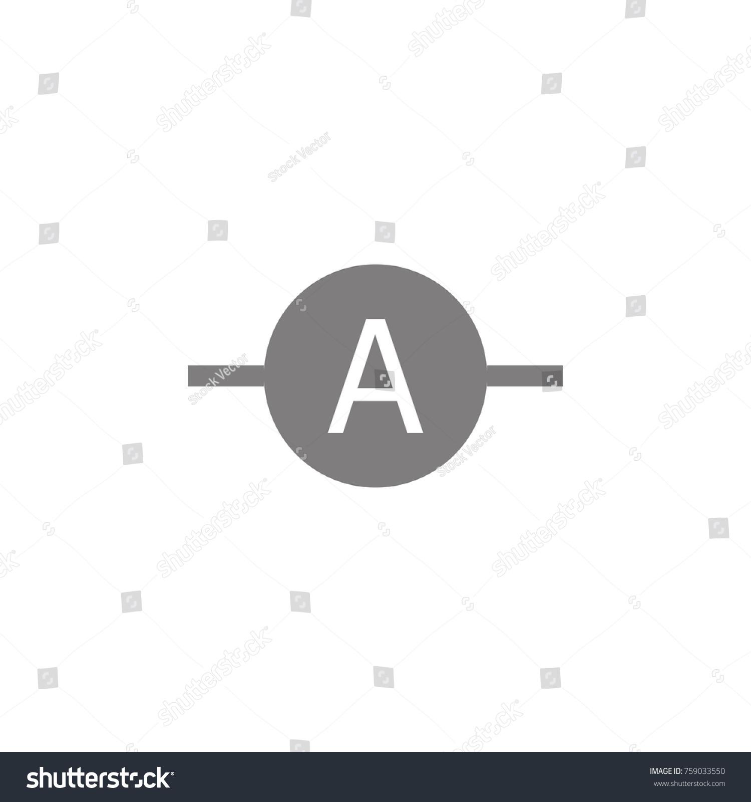 Electronic Circuit Symbol Icon Web Element Stock Photo (Photo ...