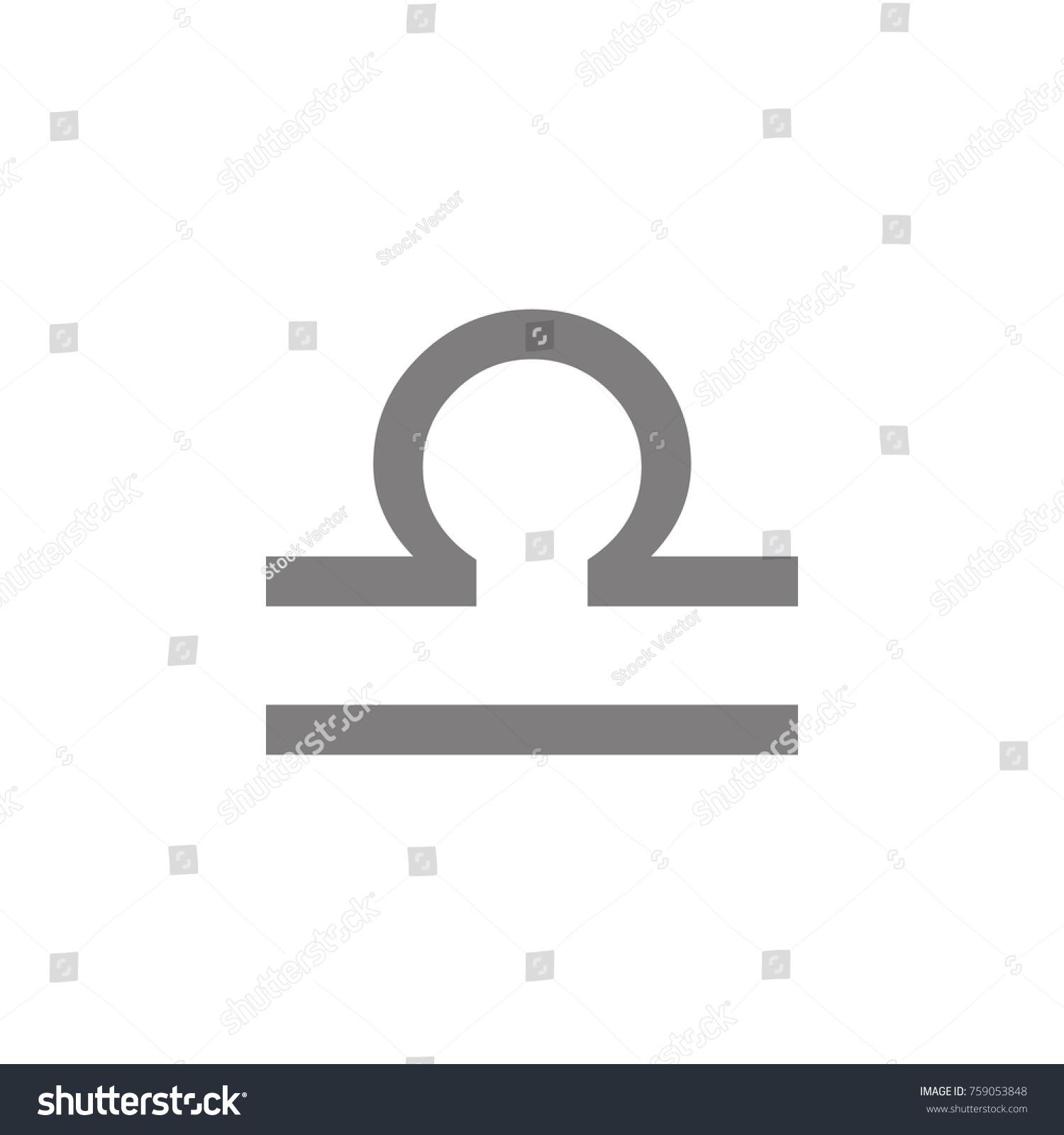 Libra icon symbol scales icon web stock vector 759053848 libra icon symbol scales icon web element premium quality graphic design signs symbols biocorpaavc Choice Image